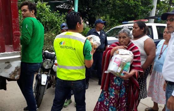 Iberdrola México donará 6 millones de pesos a la población de Oaxaca, la más afectada por el sismo.